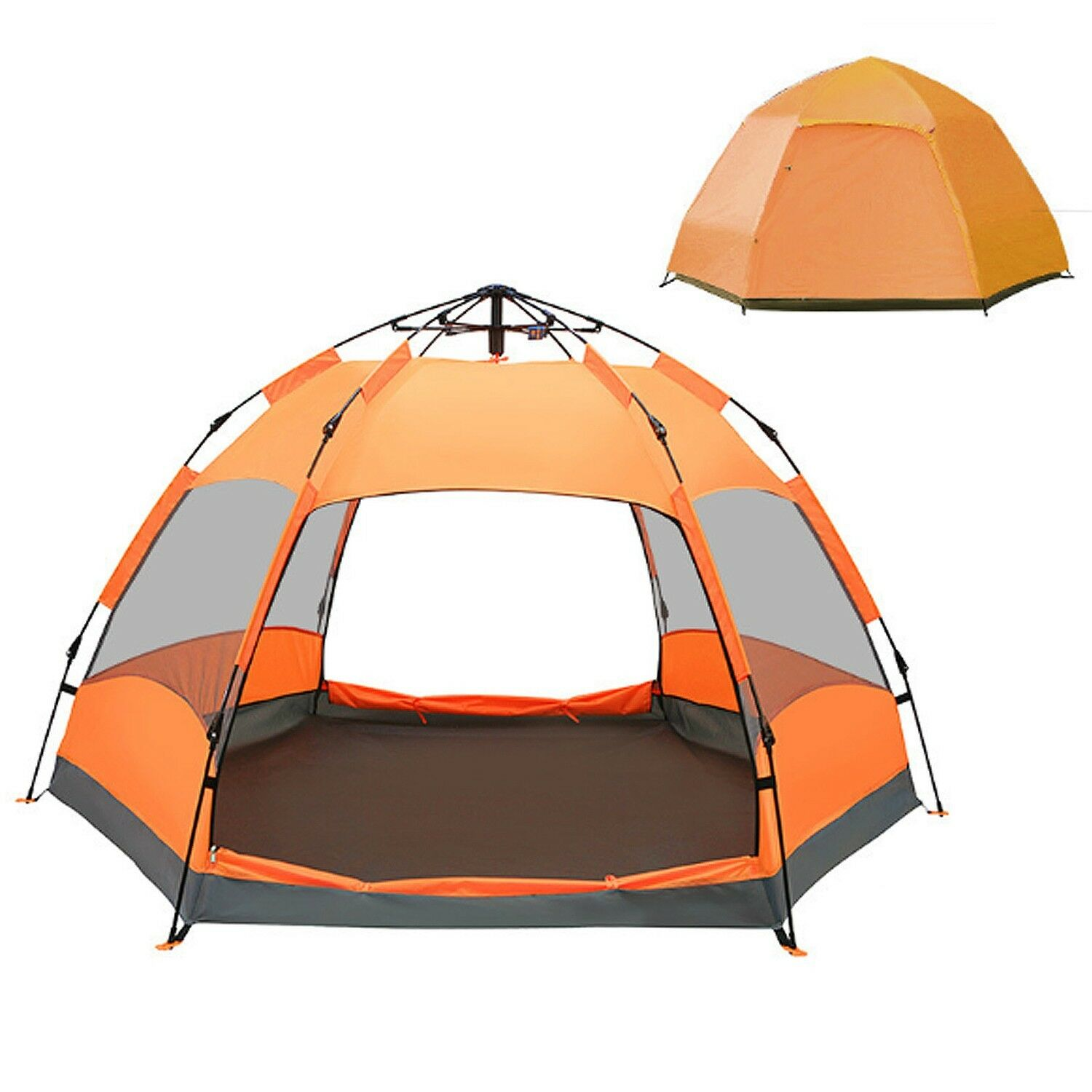 Travel Large Camping Beach Automatic Beach Camping Dome Skin Big Tent 9788b9
