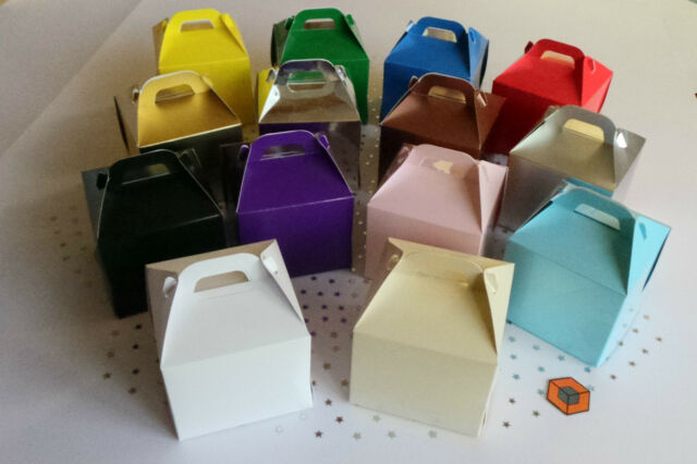 30 x Single Satin SILVER cupcake boxes cake boxes 80x80x80mm inc inserts//holder