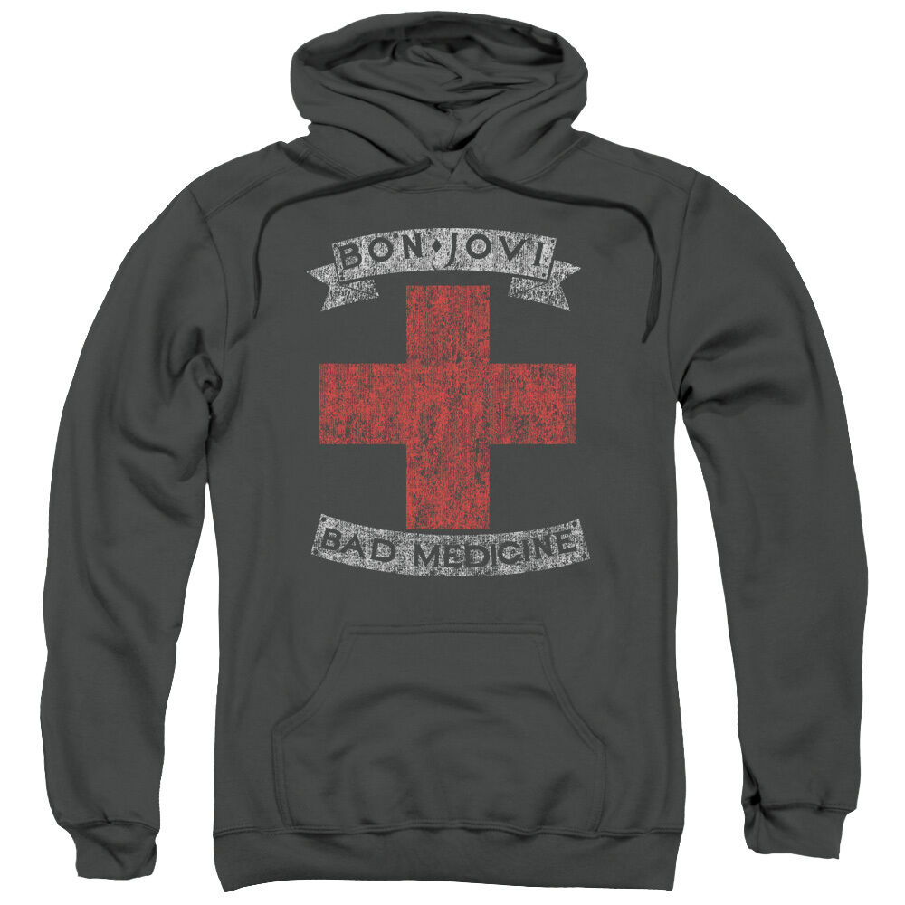 Bon Jovi BAD MEDICINE Licensed Sweatshirt Hoodie