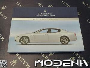 Betriebsanleitung-Handbuch-Bordbuch-Owners-Manual-Maserati-Quattroporte-Auto
