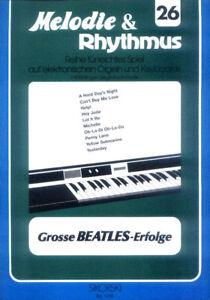The-Beatles-Songbook-Noten-Keyboard-sehr-leicht