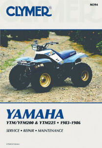 Yamaha-YTM200-YTM225-1983-1985-amp-YFM200-ATV-1985-1986-Repair-Manual