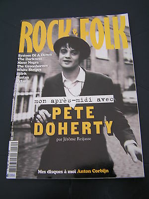 Rock & Folk 2005 460 PETE DOHERTY SYSTEM OF A DOWN DARKNESS GREENHORNES BJÖRK