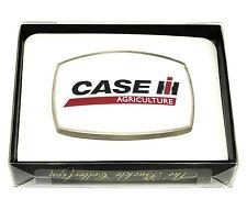 Case Agriculture Belt Buckle IH Tractor Harvester Farm White Spec Cast Licensed