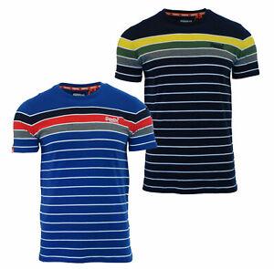 Superdry-Mens-New-Breton-Stack-Short-Sleeve-Crew-Neck-Stripe-T-Shirt-Navy-Blue
