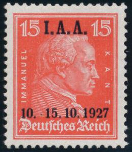 DR-1927-MiNr-408-I-tadellos-postfrisch-Fotoattest-Schlegel-Mi-800