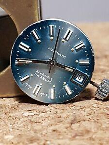 orologio-AS-5103-automatico-vintage-MOVIMENTO-quadrante-per-ricambi