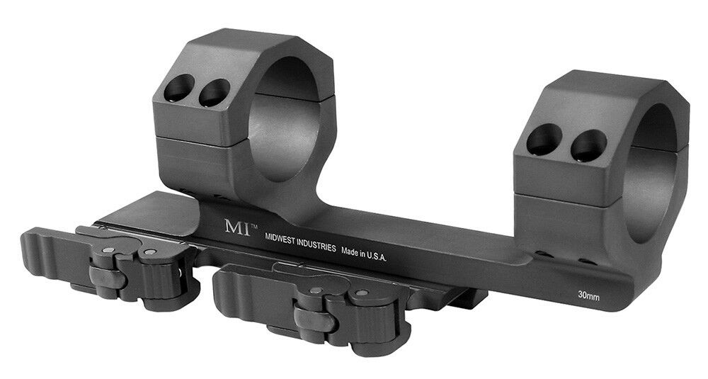 Midwest Industries MI-QD30SM-BLK 30mm Quick Detach Scope Mount Mount Mount with 1.4  Offset d891cd