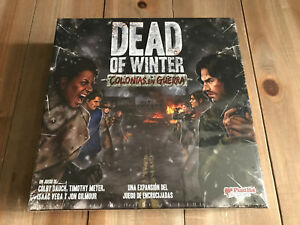 DEAD of WINTER: COLONIAS EN GUERRA - juego de mesa - Precintado - EDGE