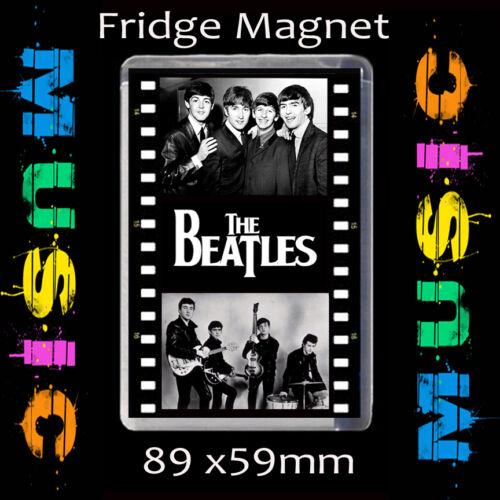 THE BEATLES FILM STRIP-LARGE FRIDGE MAGNET  89 MM X 59 MM CD456