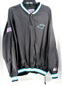 sale retailer 8b797 c9fad Vtg Carolina Panthers NFL Starter Pro Line 1/4 Winter ...