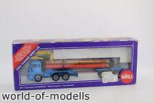 ZZ Siku 3915 MB mit Nachläufer Holztransporter blau UPAT Buntstifte 1:55 ZZ