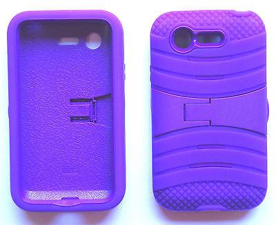 LG Optimus Fuel L34C / LG Optimus Zone 2 VS415PP PHONE CASE + SCREEN PROTECTOR
