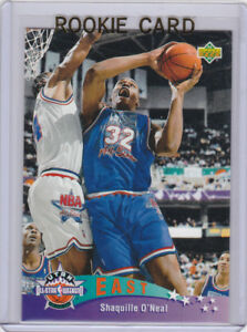 Details About Shaquille Oneal Shaq All Star Rookie Card 199293 Upper Deck Basketball Nba Rc