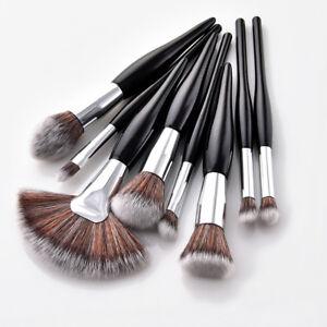 8PC-Black-Makeup-Brushes-Set-Foundation-Powder-Eyeshadow-Eyeliner-Lip-Brush-Tool