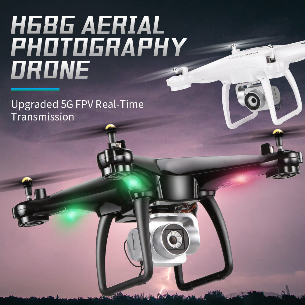JJRC H68G 1080P Wide Angle Camera 5G WIFI FPV Dual GPS RC Quadcopter Drone 2.4G