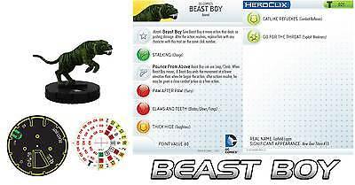 HEROCLIX TEEN TITANS Tiger 021 Beast Boy Animal