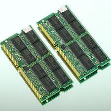 NEW 1GB 2X 512MB PC133 133MHz SDRAM 144Pin 133 Laptop Notebook sodimm MEMORY RAM