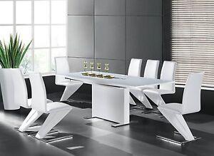 Esszimmertisch-150-210x90-Designertisch-Esstisch-Tisch-Modern-Hochglanz-Weiss