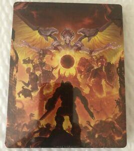 SEALED-Doom-Eternal-Best-Buy-Bonus-Steelbook-Case-NO-GAME