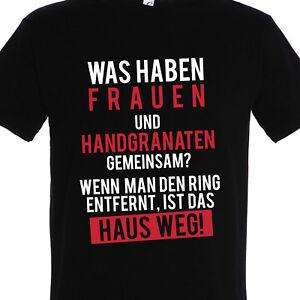 Herren T Shirt Frauenwitz Spruch Lustig Witzig Frau Geschenk Mann