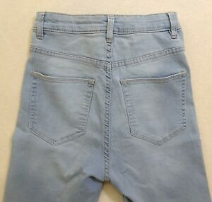 4e447530 H&M & Denim Divided Skinny Fit Jeans Low Waist Womens Size 8 x 29 ...