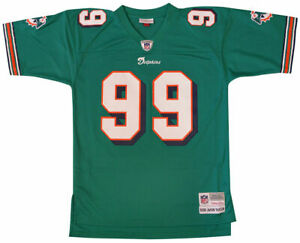 low priced 2e7f5 8f316 Jason Taylor Mitchell and Ness Authentic Dolphins Jersey Size XL