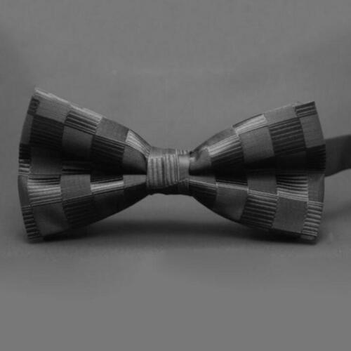 Paisley Mens Boys Bow Tie Pre-Tied Wedding Party Event Dark Blue//black//Red//Navy