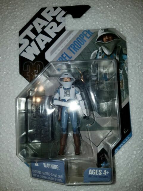 STAR WARS 30TH REBEL TROOPER MCQUARRIE CONCEPT MOC  FREE SHIPPING!!