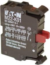 MOELLER EATON M22-KC10 - Contact Block Flush
