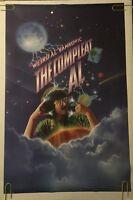 Weird Al Yankovic Vintage Poster Complete Al Music Memorabilia Pin-up 1980's