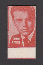 Robert Wagner 1950s Rare Movie Film Star Weigh Fortune Scale Card from Spain
