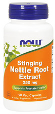 Nettle Root Extract, Stinging, 250 mg, 90 Vcaps - Now Foods