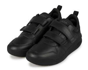 adidas Tensaur C Black School Shoes Size 10