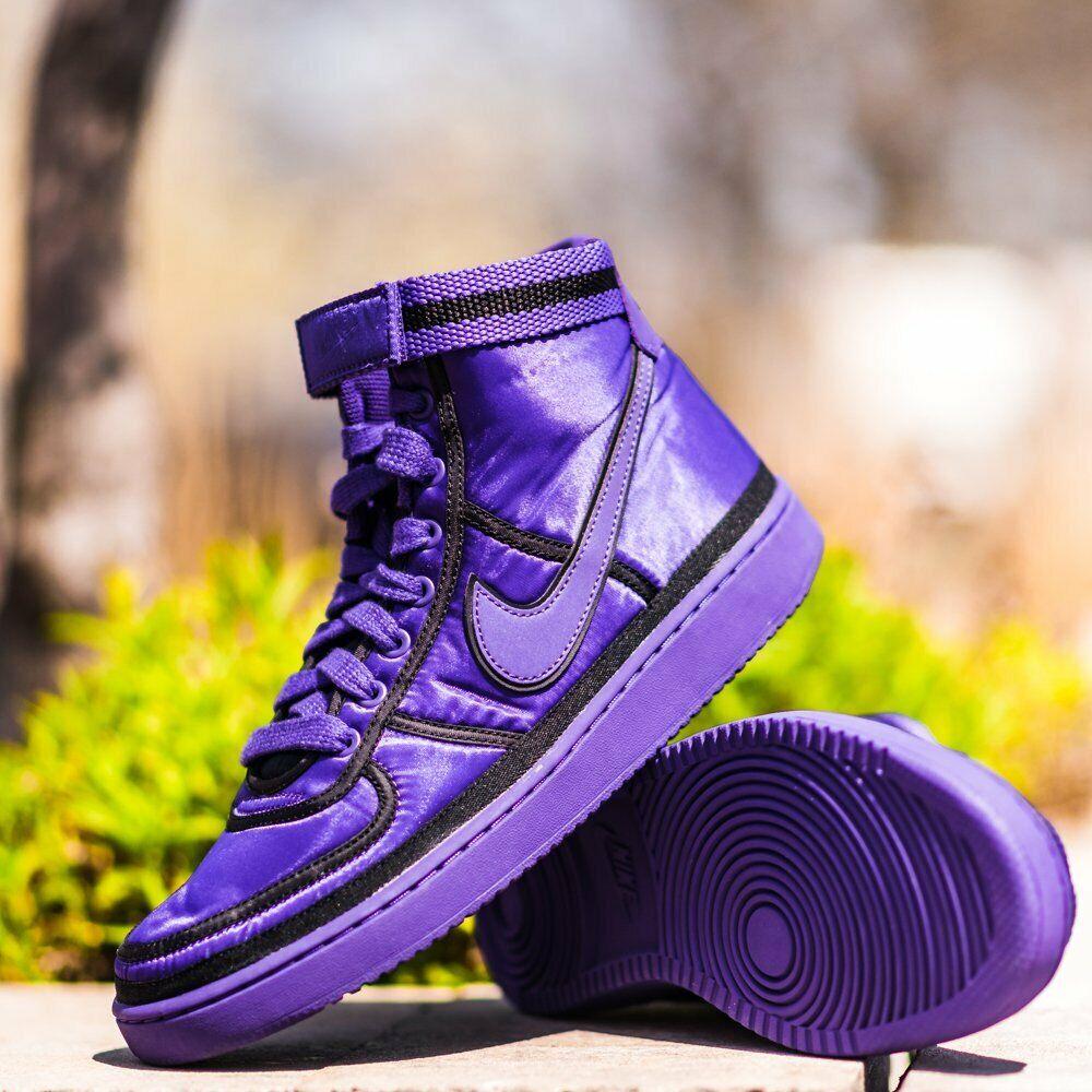 Nike VANDAL HIGH SUPREME Court Purple Men's shoes 10