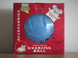Rotastak Small Animal Ballon D'exercice, Hamster, Gerbille, Jouer, Bleu, 18 Cm-afficher Le Titre D'origine Service Durable