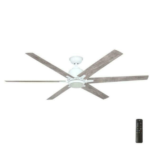 Home Decorators Collection Yg493b Wh Ceiling Fan Gray White For Sale Online Ebay