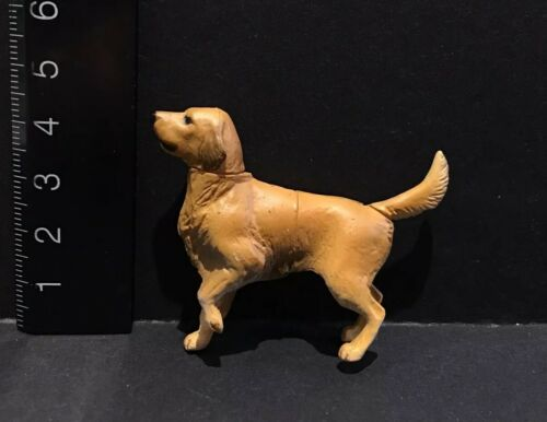 Kaiyodo Furuta Choco Q Pet Animal 1 Golden Retriever Dog Figure
