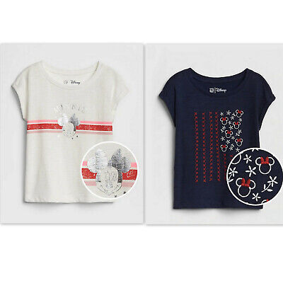 GAP OLD NAVY Disney© Minnie Mouse Tee for Toddler Girls NWT 2T 3T 4T 5t NNN n3