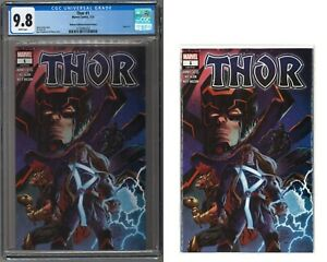 Thor #1 Walmart 2nd Variant CGC 9.8 Galactus / Black Winter +FREE RAW AND 9 MORE