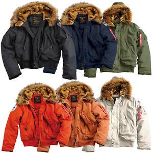 XXL S Jacket Men Jacket XL M Details 3XL Alpha Industries Polar L Men's Sv about Winter mw8nvN0