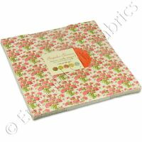 Moda Bespoke Blooms Layer Cake Fabric Brenda Riddle 42 10 Quilting Squares Kit on sale
