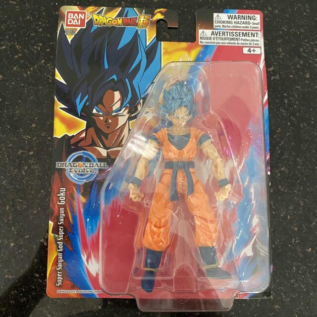 """Bandai Dragon Ball Super Evolve Super Saiyan Blue Goku 5"""" Inch Action Figure DBZ"""