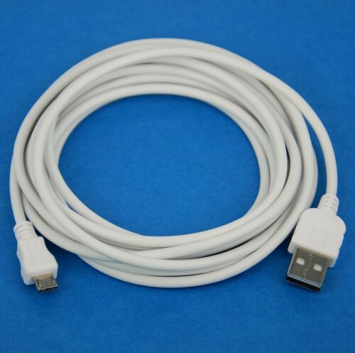 5M 16ft Fast Charger ONLY USB Cable WHITE 4 Samsung Galaxy Tab 4 3 10.1 8.0 7.0