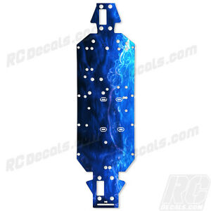 LOSI 5IVE T 4WD TRUCK CHASSIS PROTECTOR GRAPHIC - Sea Mist - LOSB2540