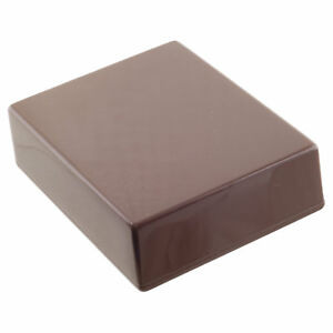 BROWN Guitar Pedal Enclosure - professionally painted - Hammond 1590BB size