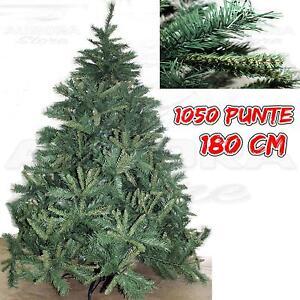 Albero Di Natale Ebay.Albero Di Natale Himalaya Abete Artificiale 180 Cm Pino Folto Deluxe Germogliato Ebay