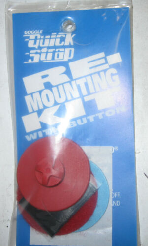 Quick Strap Goggle Re-Mounting Kit