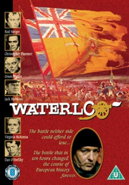 Waterloo (Rod Steiger Christopher Plummer Napoleon) Region 4 New DVD