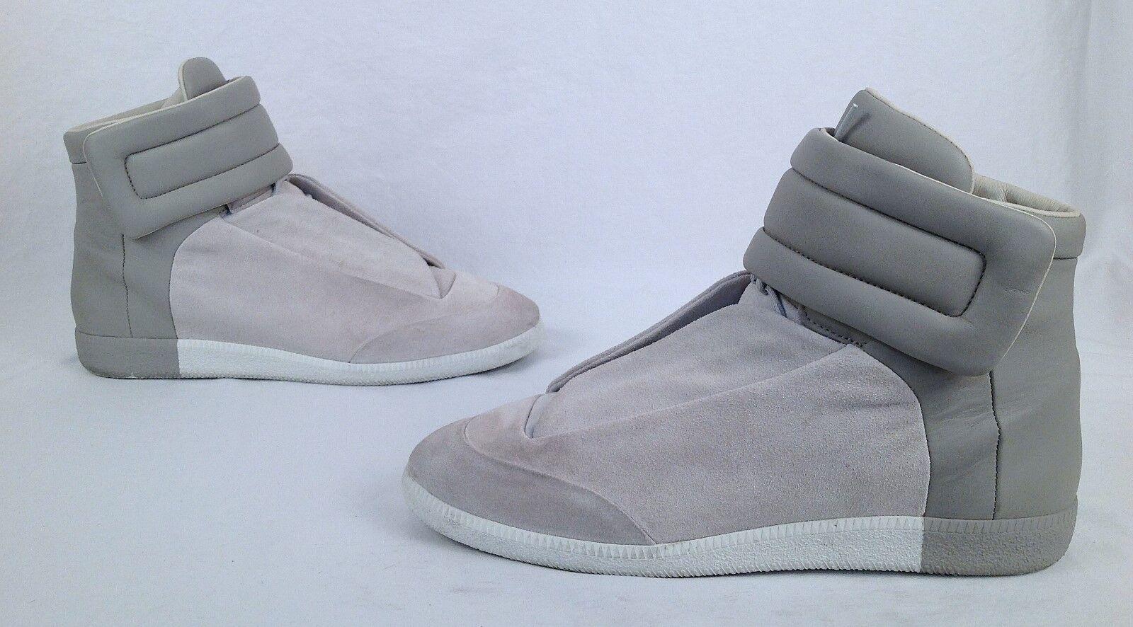 Maison Margiela Future Leather High-Top scarpe da ginnastica Dimensione-US 11  EU 44-  895(P35)